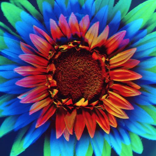 RGB Flowers